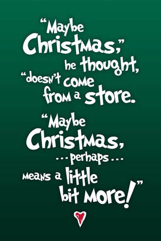 Christmas Quote Wallpaper Mobile Wallpaper