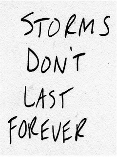 Storms Dont Last Forever Mobile Wallpaper