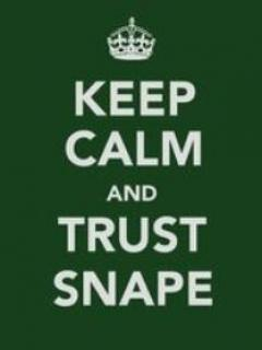 Keep Calm And Trust Snape Mobile Wallpaper