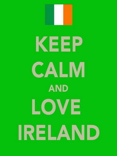Keep Calm And Love Ireland Mobile Wallpaper