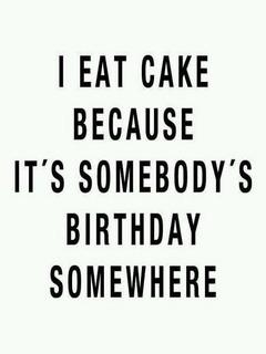 I Eat Cake Mobile Wallpaper
