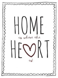 Home Heart Mobile Wallpaper