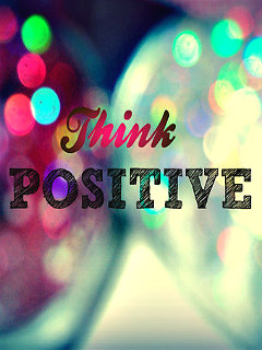 Think Positive Mobile Wallpaper