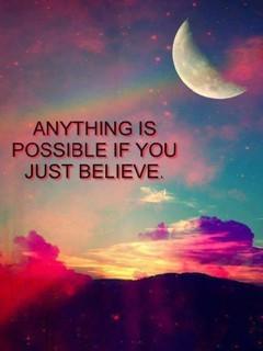Just Believe Mobile Wallpaper