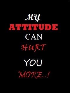 My Attitude CanHeart U More Mobile Wallpaper