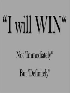 I Will Win Mobile Wallpaper