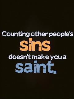 Sins Saint Mobile Wallpaper