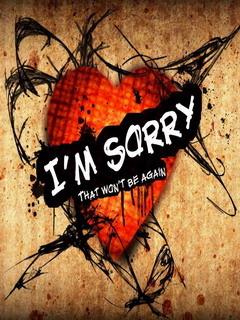 Im Sorry Mobile Wallpaper