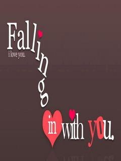 Falling In Love Mobile Wallpaper