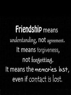 Friendship Mean Understanding Mobile Wallpaper