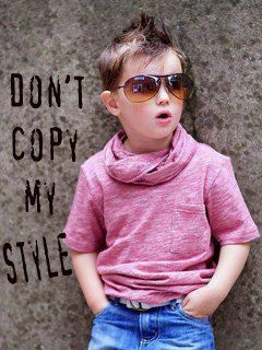 Dont Copy My Style Mobile Wallpaper