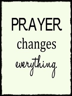 Prayer Changes Everything Mobile Wallpaper