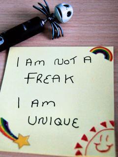 I M Not Freak Mobile Wallpaper