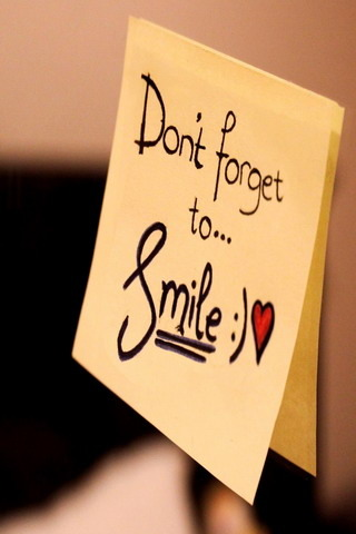 Dont Forget To Smile IPhone Wallpaper Mobile Wallpaper