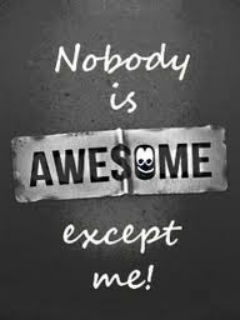 Nobody Is Awesome Mobile Wallpaper