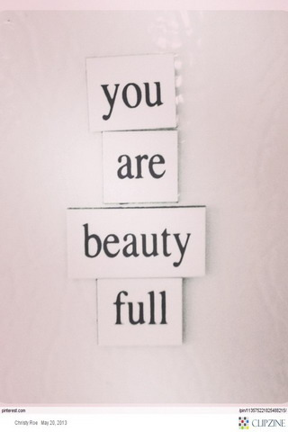 You Are Beauty Full IPhone Wallpaper Mobile Wallpaper