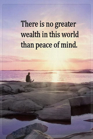 Peace Of Mind IPhone Wallpaper Mobile Wallpaper