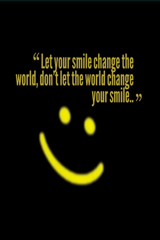 Lets Change Your Smile IPhone Wallpaper Mobile Wallpaper