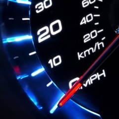 Speed Meter Mobile Wallpaper