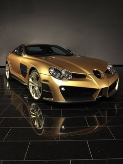 Mansory Gold Mobile Wallpaper