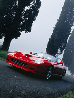 Red Sports Car Mobile Wallpaper