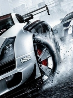 Drift Cars Is Cool Mobile Wallpaper