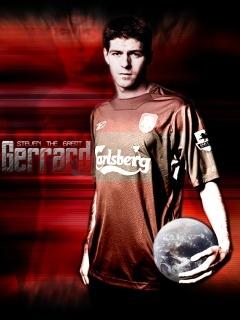 Gerrard 01 Mobile Wallpaper