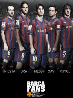 Barca Frnds Mobile Wallpaper