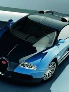 Blue Black Car Mobile Wallpaper