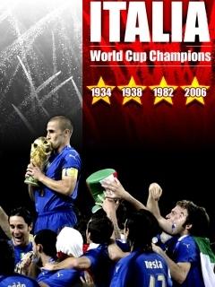 Italia 2006 Mobile Wallpaper