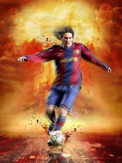 Messi1 Mobile Wallpaper