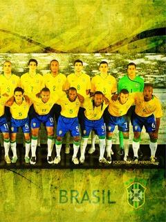Brasil Team Mobile Wallpaper