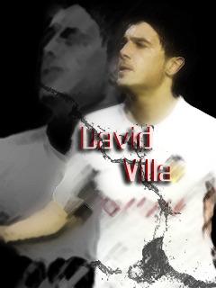 David Villa Mobile Wallpaper