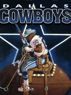 Dallas Cow Boys Mobile Wallpaper