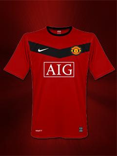 Red Shirt Manchester Mobile Wallpaper
