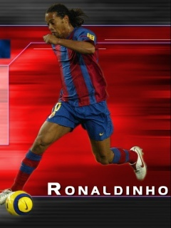 Ronaldinho Mobile Wallpaper