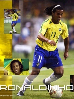 Ronaldinho Mobile Wallpaper