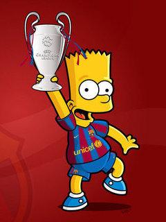 Bart Simpson Mobile Wallpaper