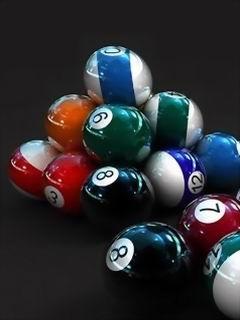 Snookers Balls Mobile Wallpaper