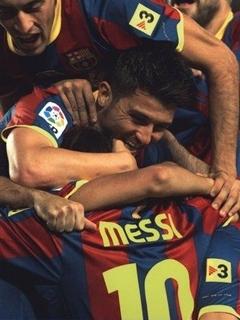Goal Messi Mobile Wallpaper