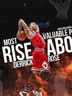 Derrick Rose Mobile Wallpaper