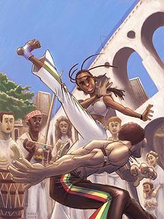 Capoeira Mobile Wallpaper