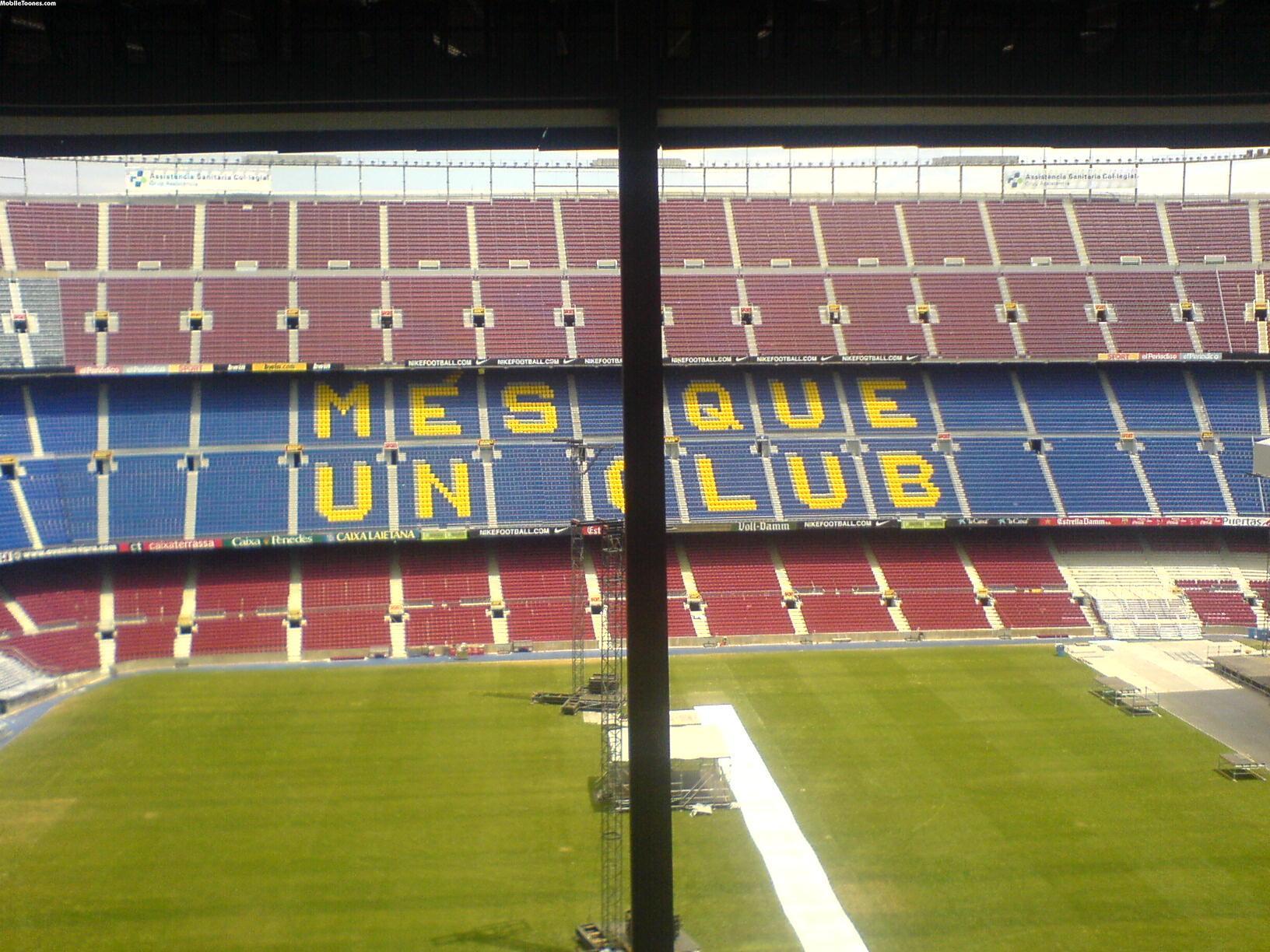 Camp Nou Barclonea Mobile Wallpaper