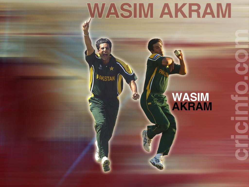 Wasim Akram Mobile Wallpaper