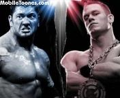Batista And Cena Mobile Wallpaper