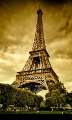 Eifil Tower Mobile Wallpaper
