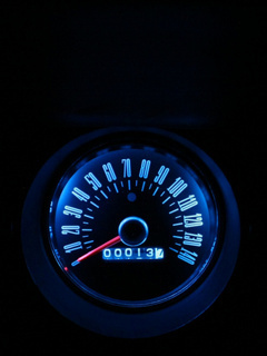 Blue Speed Mobile Wallpaper
