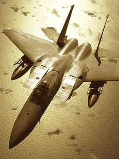 F15 C Fighter Mobile Wallpaper