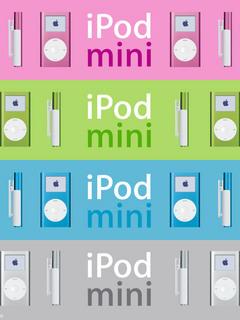 Mini IPod Mobile Wallpaper