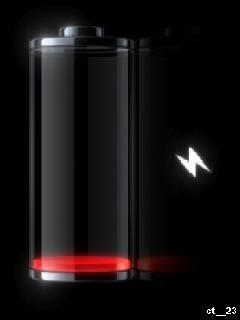 Low Battery Mobile Wallpaper